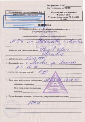 Купить медицинскую справку для бассейна Москва Отрадное